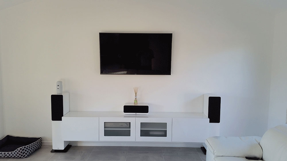 Wall Mounted LED LCD Flat Screen TV and Home Theatre Installation and Setup